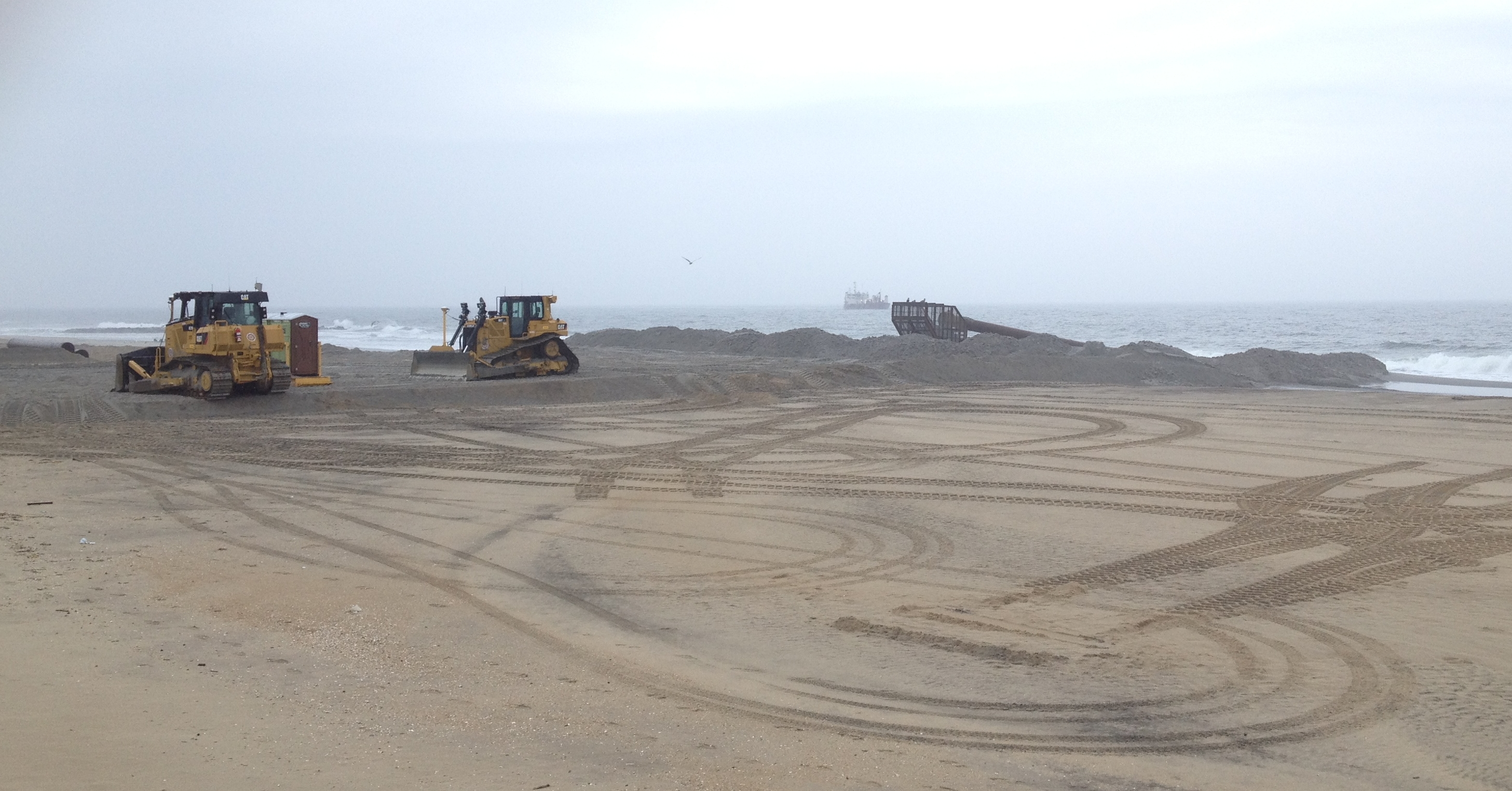 Many Unhappy with Beach Replenishment